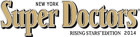 """Dr. Silver has been selected as a """"Super Doctors - Rising Star"""" in 2013 and 2014"""