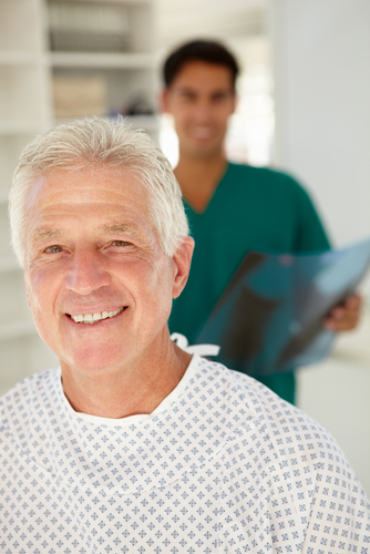 relieved patient