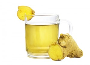 ginger tea to relieve sinus headache