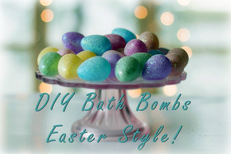 Easter Egg Bath Bomb Recipe