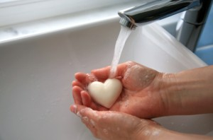 washing your hands helps kill germs
