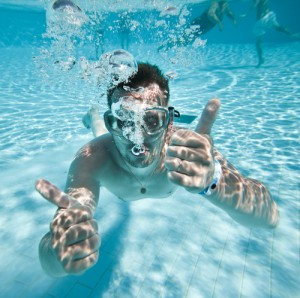 swimming with sinusitis