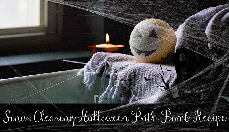 Halloween Bath Bomb Recipe