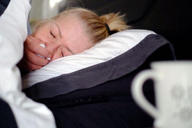 Sleep with Sinusitis